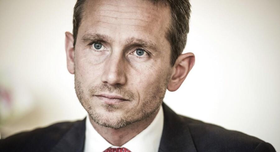 »Jeg synes, man bør være fælles om at tale Danmark op,« siger udenrigsministeren