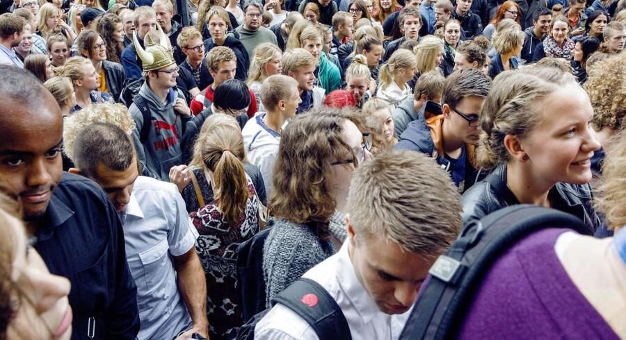 91.231 har søgt optagelse på en videregående uddannelse i 2014. Det er det højeste antal ansøgere nogensinde.
