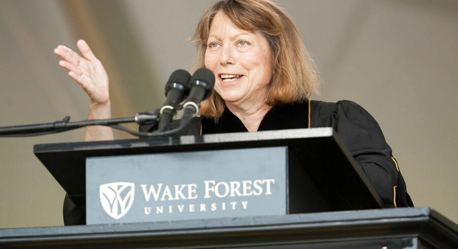 Jill Abramson var den første kvindelige redaktør på New York Times.