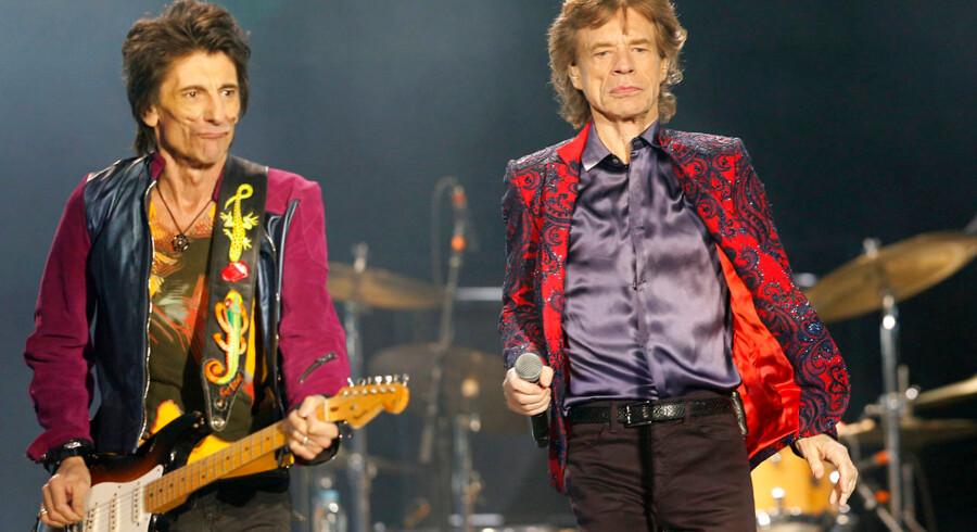 Det britiske rockband The Rolling Stones var klar til at indtage Cuba med rock 'n' roll søndag