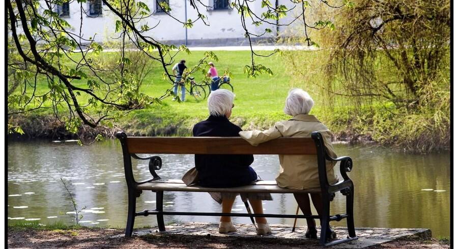 Pensionssystemet er vores tid største problem, skriver kronikkens tre forfattere, der alle er studerende. Foto:Torben Christensen