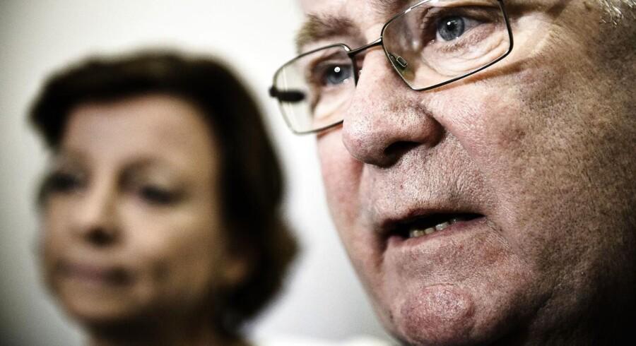 Finansminister Claus Hjort Frederiksen (V) slår nu fast, at det omstridte omprioriteringsbidrag består.