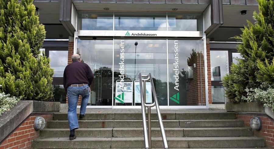 Danske Andelskassers Banks Hovedsæde på Viborgvej i Hammershøj. (Foto: Henning Bagger/Scanpix 2013)
