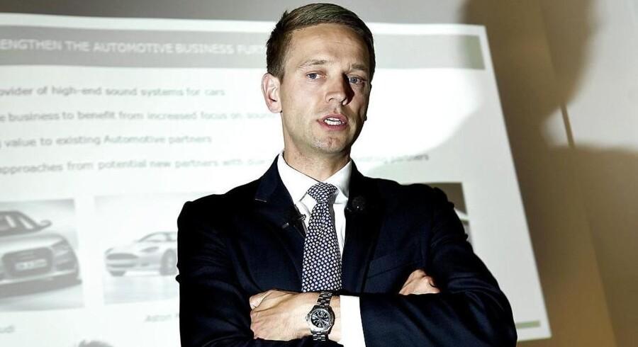 Efter fem år i spidsen for Bang & Olufsen stopper Tue Mantoni til sommer.