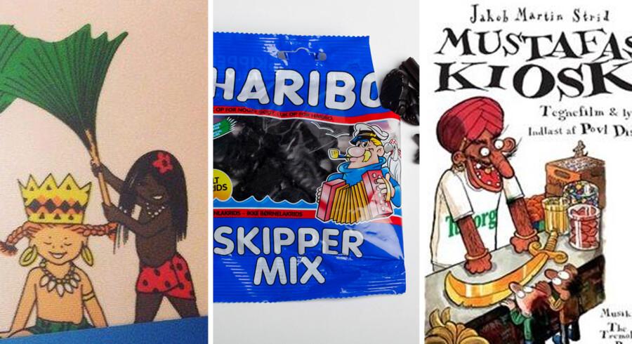 I Sverige går der ikke længe mellem racismeanklagerne, som både Haribo, Tintin og endda svenskernes egen Pippi Langstrømpe har været udsat for.