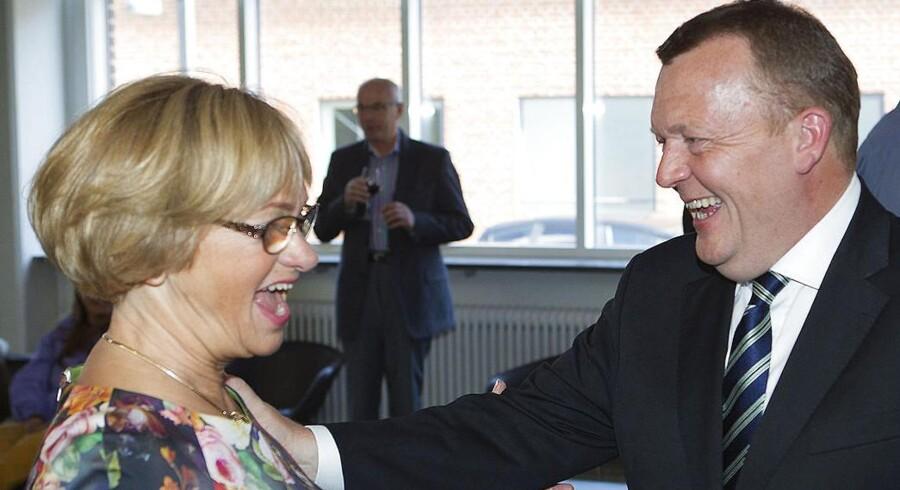 Lars Løkke Rasmussen vil have Pia Kjærsgaard som ny formand for Folketinget.
