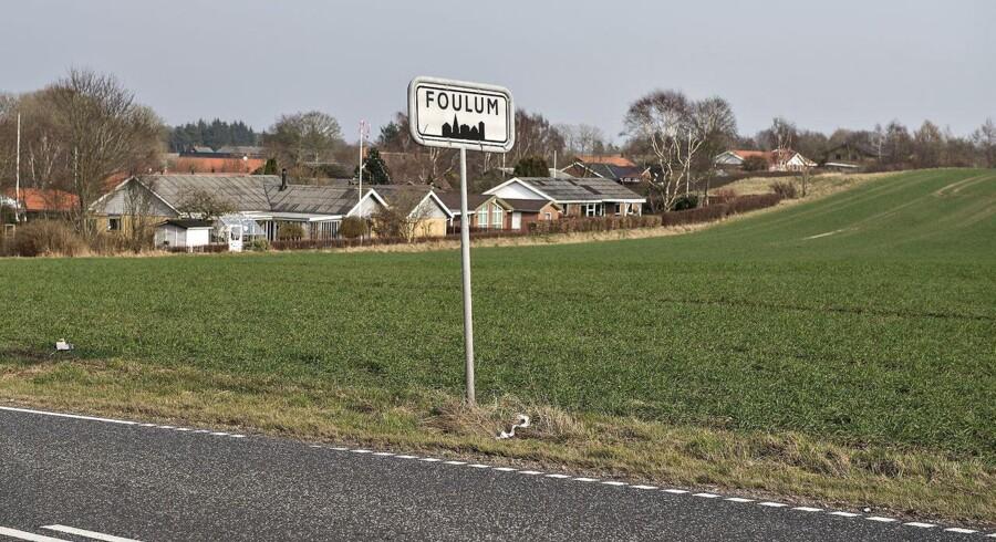 Apple opfører en kæmpe datacentral på en mark ved landsbyen Foulum øst for Viborg.