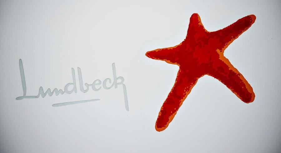 Lundbeck logo. (Foto: Torkil Adsersen/Scanpix 2013)