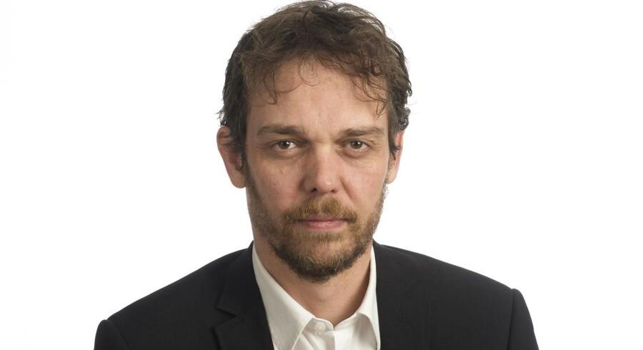 Byline foto Business journalist Lasse Friis