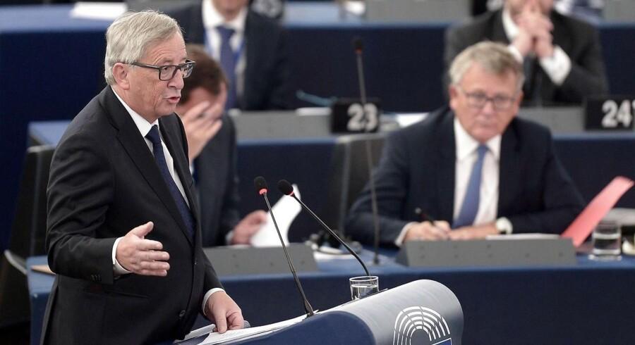 »Det er tid til at vise mod og fælles handling fra medlemslandenes side,« siger EU-Kommissionens formand, Jean-Claude Juncker.