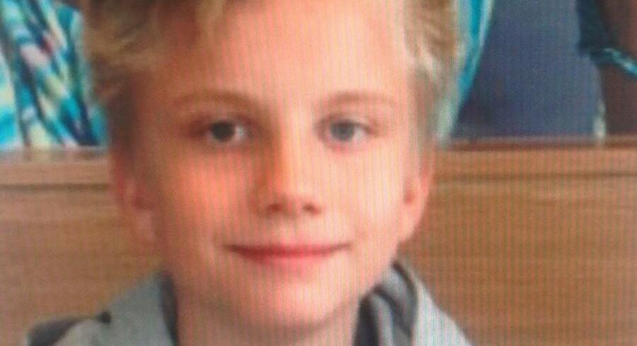 Billede af den forsvundne dreng, Marcus.