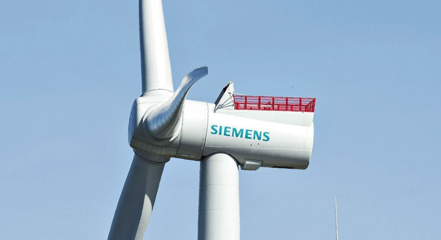 Siemens vindmølle.
