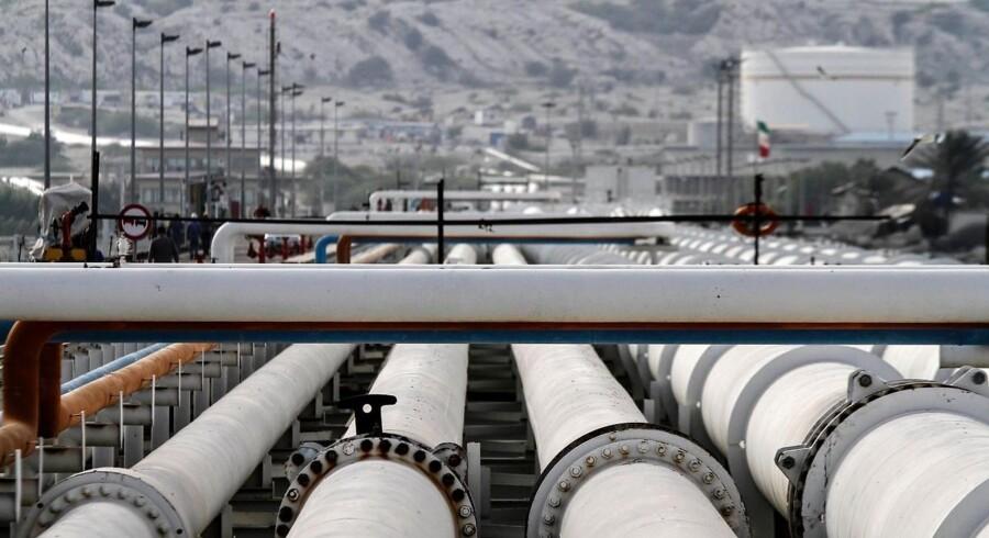 Iran vil pumpe mere olie ud - oliepriserne falder. Arkivfoto.