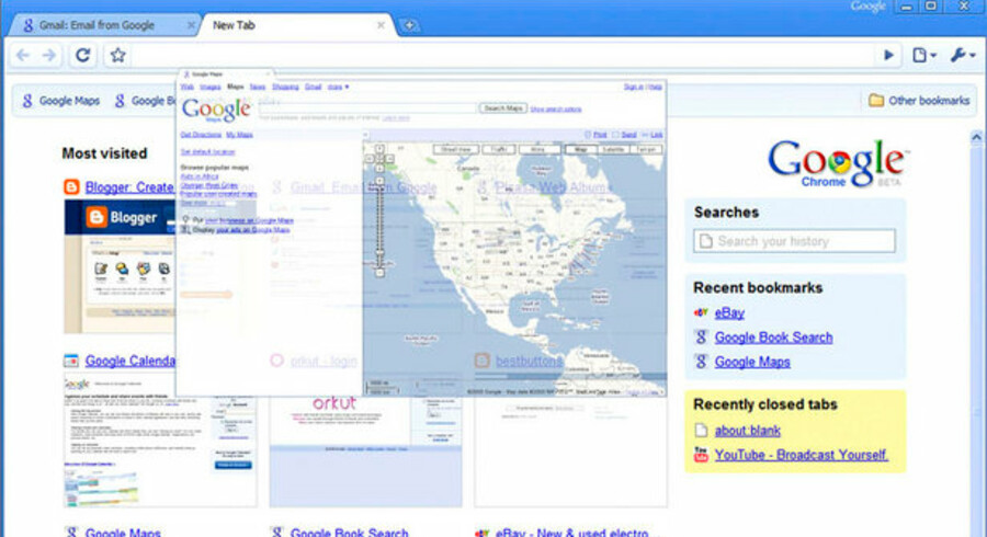 Googles Chrome er kommet i en ny udgave - foreløbig dog med forbehold for fejl.