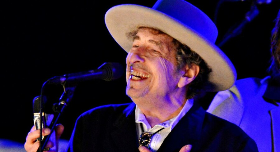 Musikeren Bob Dylan.