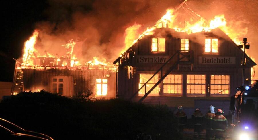 Svinkløv badehotel er natten til d. 26. september brændt ned til grunden. Branden i badehotellet var ikke påsat, men siden branden har der været mange andre brande i området.