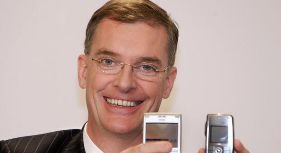 Manden bag Nokia Siemens Networks, Simon Beresford-Wylie, går fra selskabet. Arkivfoto: Katja Lenz, AFP/Scanpix