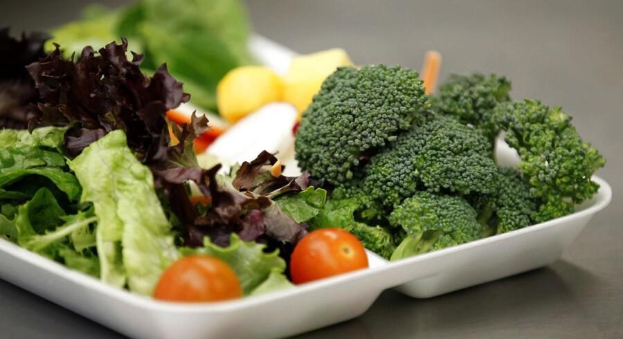 Friske grøntsager mister hurtigere næringsstoffer end frossen, viser undersøgelse.