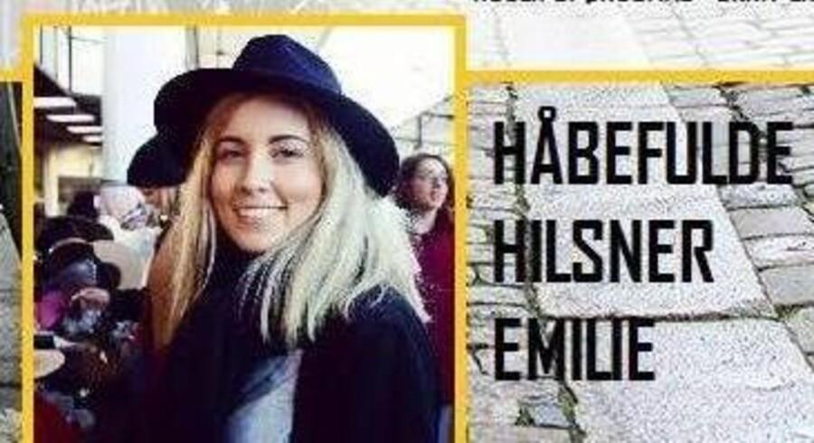 Emilie Kjær Nilsen leder som mange andre kommende studerende efter et sted at bo i København. Hun forsøger at skille sig ud med en annonce om sig selv, som hun har lagt på Facebook. Her et lille udsnit af annoncen.