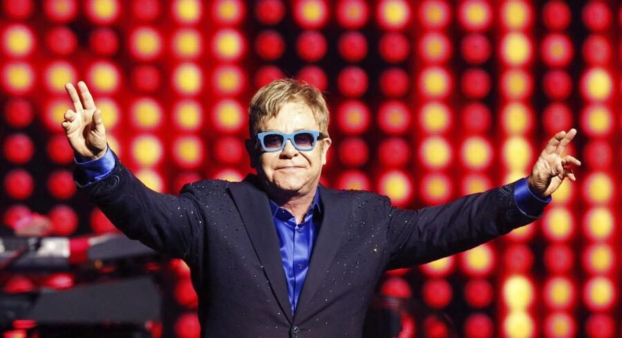 Elton John til Universel Music Festival. Universel Music er et af de pladeselskaber, som Kopifon repræsenterer.