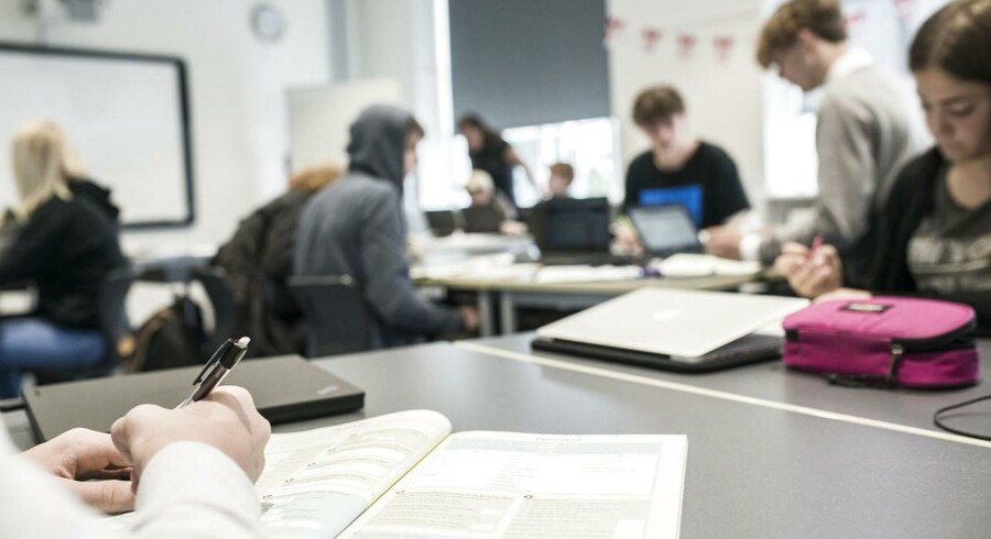 Børn i ottende klasse er usædvanligt stressede og føler sig meget pressede, viser ny rapport.