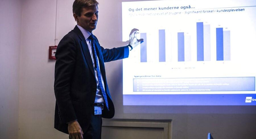 Kim Søgård Kristensen, som tidligere har været teknologidirektør i TDC, overtager nu ansvaret for at sælge adgang til TDCs net. Arkivfoto: Simon Læssøe, Scanpix