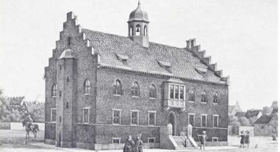 De to adskilte pladser blev reelt forenet, da rådhuset forsvandt ved bybranden i 1795, men navnene Gammeltorv og Nytorv blev alligevel bevaret. Arkivfoto