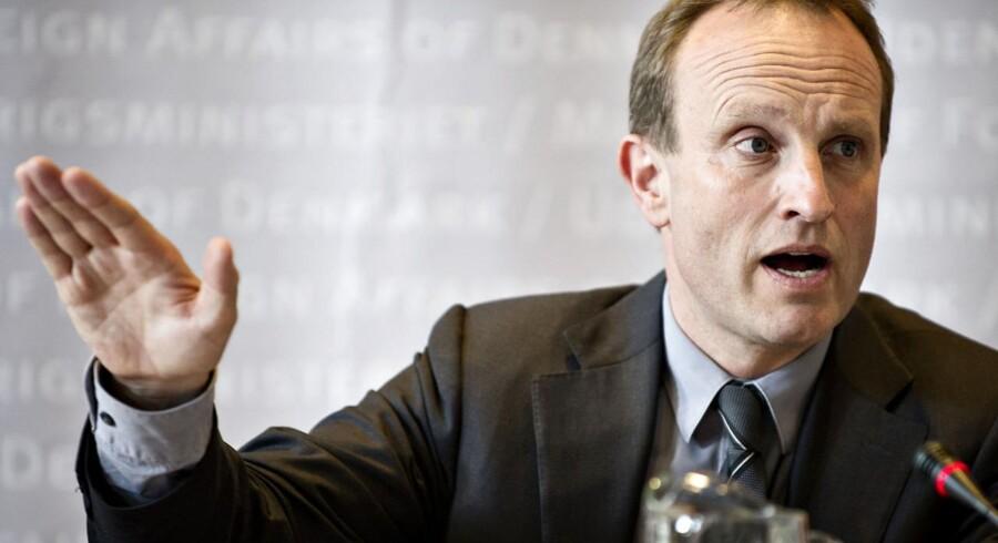 Klimaminister Martin Lidegaard er fortsat optimist omkring udbredelsen af elbiler: »Selv om nogen måske synes, at der er lidt Komiske Ali over, at jeg bliver ved med at sige det, så tror jeg på det.«