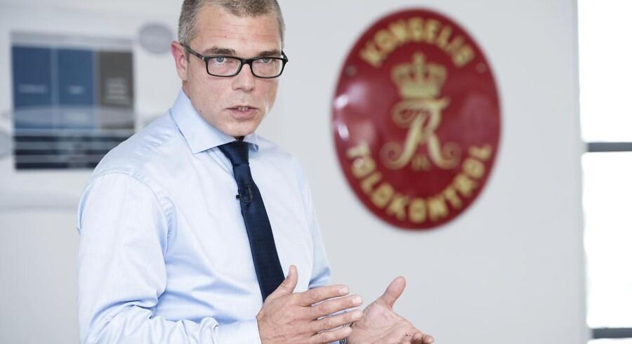 Direktør i Skat, Jesper Rønnow Simonsen, frasiger sig bonus efter et turbulent år. Arkivfoto fra 2015.