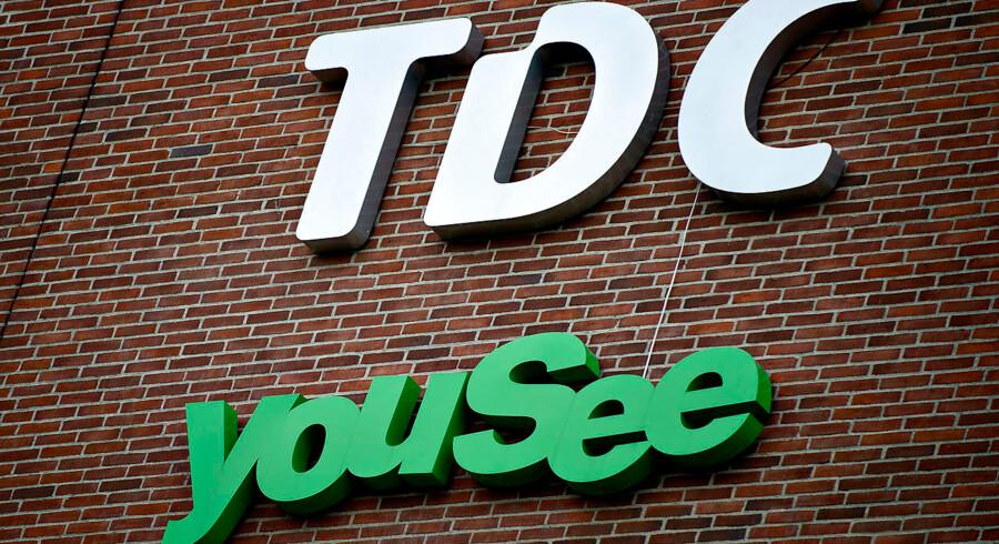 TDC snød kunderne med falsk pris BV.: TDC og YouSee facade og logobilleder fotograferet tirsdag d. 7. august. (Foto: Torkil Adsersen/Scanpix 2012). (Foto: Torkil Adsersen/Scanpix 2012)