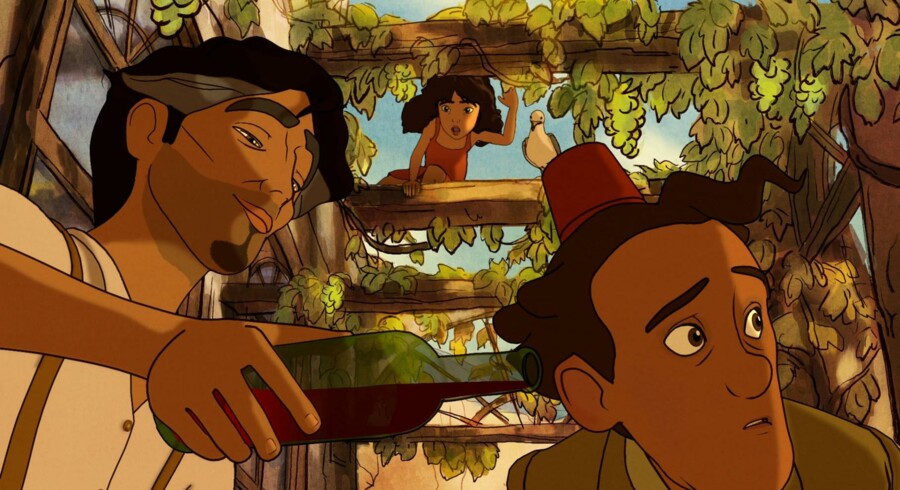 Rabalder Bio med usædvanlige animationsfilm til børn og unge har været en succes. Foto fra »Den lille pige og profeten«.