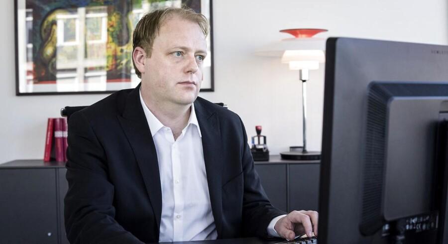Chefen for Bagmandspolitiet, Morten Niels Jakobsen, regner med, at politiet måske allerede i første halvår af 2016 kan gøre status på OW-Bunker-sagen. Foto: Jens Nørgaard Larsen.
