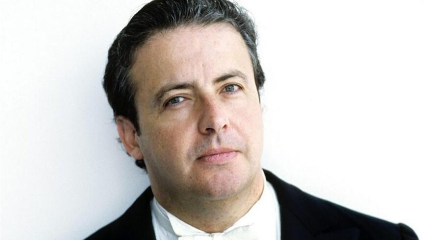 Juanjo Mena var klar kandidat til posten so chefdirigent for DR SymfoniOrkestret, men blev slået af italieneren Fabio Luisi. Foto: DR