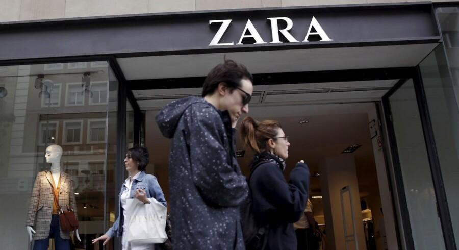 Solen skinner på den spanske økonomi, og det varmer også på tøjbutikkerne.