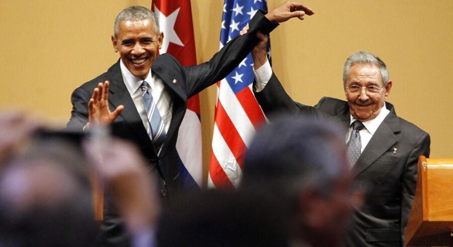 Det iskolde og fjendtlige forhold mellem USA og Cuba er i løbet af de seneste år med Barack Obama som amerikansk præsident begyndt at tø op.