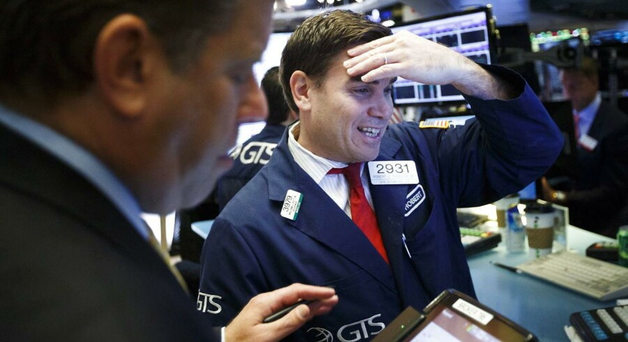 Arkivfoto. Det amerikanske aktiemarked har indledt mandagens handel med positive fortegn, hvor investorerne har fået nyt om renteudsigterne i USA.