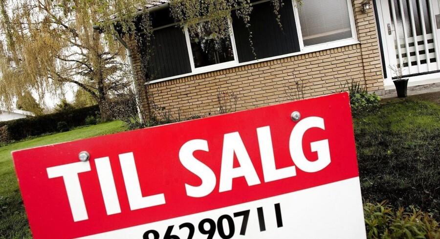 Nogle huse har sværere end andre ved at blive solgt på det danske boligmarked.