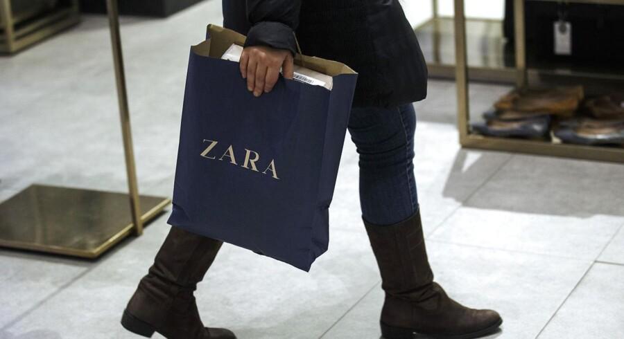 Inditex, der står bag tøjfirmaet Zara, kom positivt igennem de første 9 måneder af renskabsåret 2014/15.