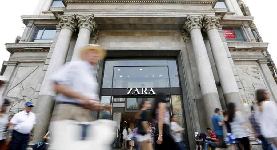 Den spanske tekstilkoncern Inditex, der blandt andet ejer tøjmærket Zara, leverede onsdag morgen regnskab for første kvartal.