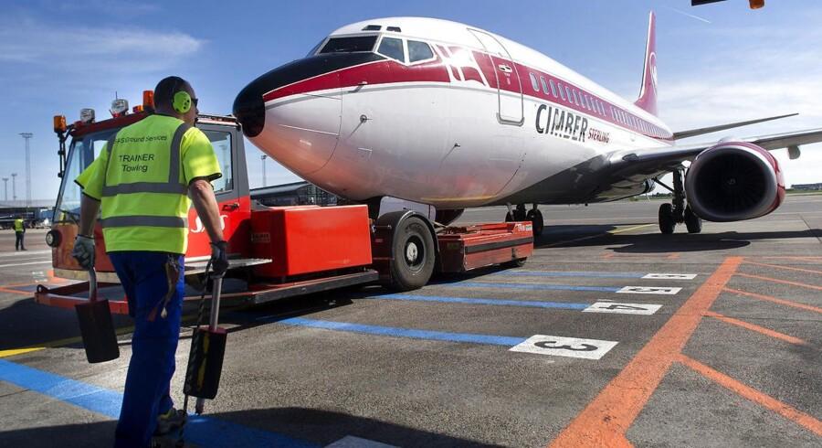 En række fly-leasing-selskaber har siden flyselskabet Cimber Sterling gik konkurs i 2012 forsøgt at få returneret eller erstattet syv kostbare flymotorer, som selskaberne havde leaset til Cimber Sterling, og som sad i Cimber Sterlings fly, da selskabet gik konkurs.