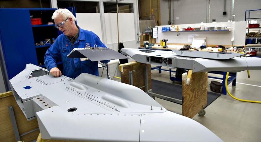 Hos Terma i Grenaa produceres der dele til F-35 , Joint Strike Fighter, Danmarks måske kommende kampfly.