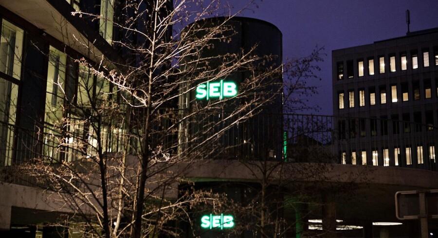 Her ses det nuværende SEB hovedsæde.