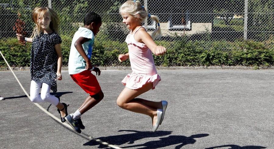 DGI og Bysekretariatet afholder Playground i Jennumparken: Sommerskolen kommer forbi Randers Nordby med idrætsaktiviteter.