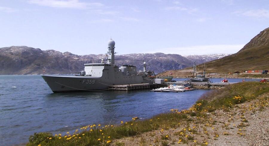 Den nedlagte flådestation Grønnedal i Grønland kan ifølge Søren Espersen rumme 300-350 flygtninge.