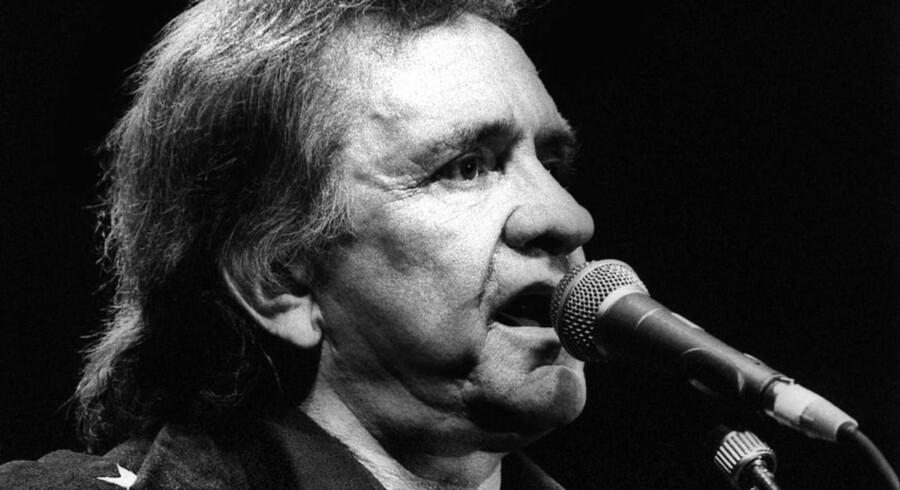 Den legendariske countrymusiker Johnny Cash døde 12. September 2003, 71 år år gammel.