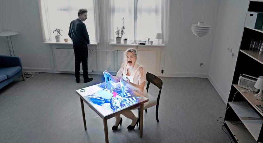 Anders Mossling og Helene Klint i »SAVN«. Foto: Karoline Lieberkind