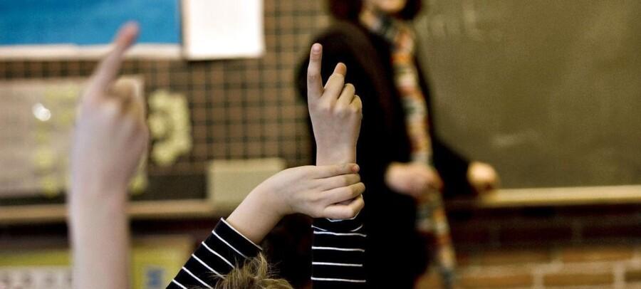 ARKIVFOTO. Privatskoler bryder FNs børnekonvention.