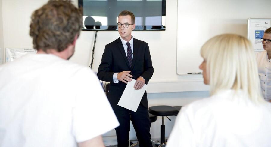 Uddannelses- og forskningsminister Esben Lunde Larsen (V).