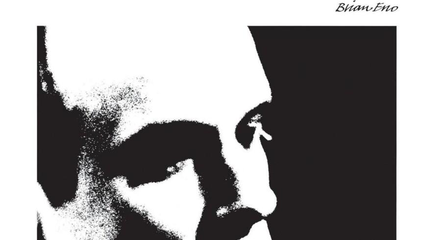 En af musikkens mest markante personligheder Brian Eno er til juni Danmarks-aktuel med sit nye værk »The Ship«, der både kan opleves på Heartland Festival og Kunsthal Charlottenborg. Billedet viser albumcoveret fra hans plade »Before And After Science« fra 1977.