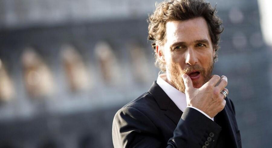 Matthew McConaughey spiller hovedrollen i den amerikanske film »Dallas Buyers Club«, som i år vandt to Oscars. Danske fildelere får i øjeblikket tilsendt bøder af den amerikanske rettighedshaver til filmhittet for ulovligt at have downloadet deres produkt.